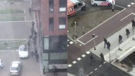 Olanda, sparatoria su un tram a Utrecht: le forze speciali circondano un edificio