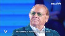 Renzo Arbore a Verissimo, così racconta la sua carriera
