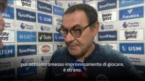 """Chelsea, Sarri: """"Grande primo tempo, poi ci siamo persi"""""""