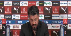 """Gattuso: """"Kessié e Biglia? Se li vedevo mi buttavo nella mischia pure io"""""""