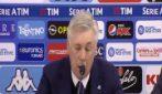 """Napoli, Ancelotti: """"L'Europa ci costa tanta energia"""""""