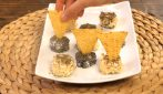 Cheese truffles nachos: just a few minutes to make a tasty appetizer!