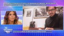 """Pomeriggio Cinque, Mariano Catanzaro: """"Non sono violento come dice Emanuela Tittocchia"""""""