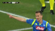 Europa League, Napoli-Salisburgo 3-0: gol e highlights