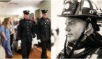 Pompiere muore a 31 anni e sceglie di donare gli organi: l'ultimo saluto in ospedale è da brividi