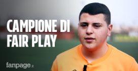 Jacopo il calciatore campione di fair play: 'Genitori insultavano dagli spalti, ho fermato la partita'