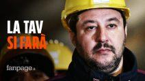 """Tav, Matteo Salvini non ha dubbi: """"Si farà e i bandi partiranno"""""""