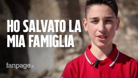 """Luigi ha salvato la sua famiglia dal terremoto: """"Chiederò a Mattarella di aiutarci a ricostruire"""""""