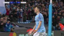 Manchester City-Schalke 7-0: primo gol in Champions per Foden
