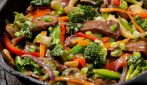 Beef stir fry and piadina: a brilliant idea to surprise your guests!