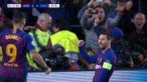 Champions, Barcellona-Lione 5-1: gol e highlights