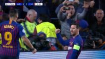 Champions, Barcellona-Lione 5-1: gol e highlights