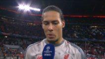 """Liverpool ai quarti di Champions, van Dijk: """"Vittoria incredibile col Bayern"""""""