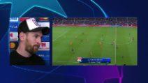 "Champions, Messi: ""Chi ai quarti? Ronaldo e la Juve impressionanti"""