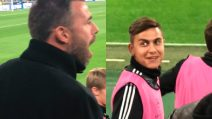 Gol annullato alla Juve, Barzagli protesta e Dybala si volta ridendo