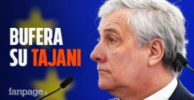 """Tajani: """"Mussolini ha fatto anche cose positive"""". Bufera sul presidente dell'Europarlamento"""