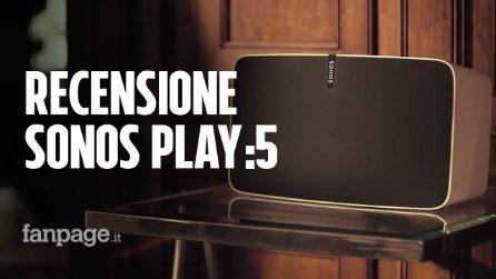 Recensione Sonos Play:5, non ha Alexa ma è uno dei migliori speaker wireless multiroom