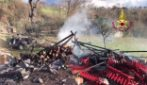 Avellino, esplode deposito di fuochi d'artificio: c'è una vittima