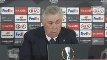 """Napoli, Ancelotti: """"Il gol di Milik ha condizionato la gara"""""""