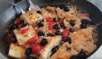 Baccalà con olive e pomodorini: un piatto di pesce succulento e saporito