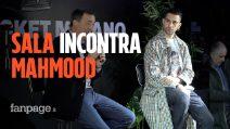 """Mahmood incontra il sindaco Sala e canta """"Soldi"""" a cappella: """"Da Milano e Napoli buone vibrazioni"""""""