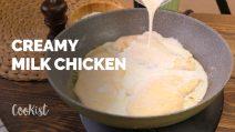 Creamy milk chicken: a quick recipe to make it tender