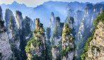 Come nel film Avatar, i meravigliosi picchi montuosi del parco di Zhangjiajie