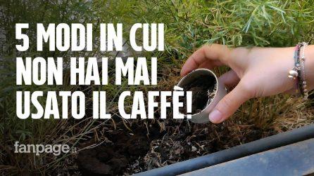 5 modi in cui non hai mai utilizzato il caffè!