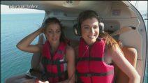 Il lancio di Veronica Maccarone e Nicoletta Larini a L'Isola dei Famosi 2019