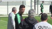 Cristiano Ronaldo torna ad allenarsi con il Portogallo