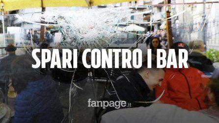 """Napoli, spari contro bar in centro: """"Una moto ha sparato ad altezza uomo, c'erano clienti ai tavoli"""""""