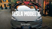 Ho guidato (senza mani) la Tesla Model X