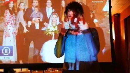 Elena Sofia Ricci guarda il finale di 'Che Dio ci aiuti 5' e si scioglie in lacrime