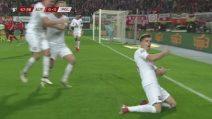Piatek fa volare la Polonia: il gol vittoria dell'attaccante del Milan