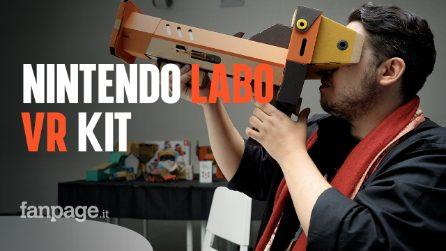 Nintendo Labo Kit VR: abbiamo provato la realtà virtuale di Switch