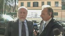 "Napoli, Aurelio De Laurentiis: ""Bilancio di Ancelotti positivissimo"""