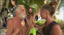 Scontro tra Marina La Rosa e Riccardo Fogli all'Isola dei famosi