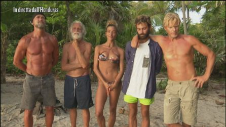Kaspar Capparoni, Riccardo Fogli e Soleil eliminati definitivamente dall'Isola 2019