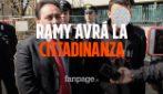 """Incendio bus, Salvini: """"Ramy avrà la cittadinanza, è come mio figlio"""""""
