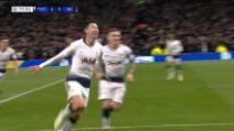 Champions, andata dei quarti: Tottenham-Manchester City 1-0, gol e highlights
