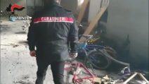 I carabinieri controllano due cooperative di accoglienza e trovano 66 scooter rubati