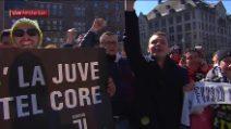Champions: Ajax-Juve, tanti tifosi bianconeri in centro ad Amsterdam