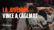 La Juventus non si ferma: i gol di Bonucci e Kean sbancano la Sardegna Arena