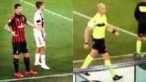 L'arbitro va al Var, Dybala e Calabria parlano prima del verdetto