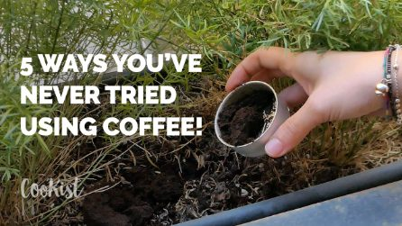 5 ways you've never tried using coffee!