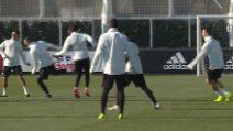 Juventus, Cristiano Ronaldo corre verso l'Ajax