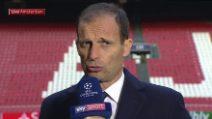 "Verso Ajax-Juve, Allegri: ""CR7 gioca, dispiace per Chiellini ed Emre Can"""