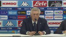 """Napoli, Ancelotti: """"Calo di motivazioni ma ora blindiamo il secondo posto"""""""