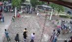 Sri Lanka, il video del presunto kamikaze mentre entra in chiesa