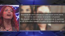"""GF 16, Francesca De André furiosa col padre Cristiano: """"Fai schifo, la violenza non è amore"""""""